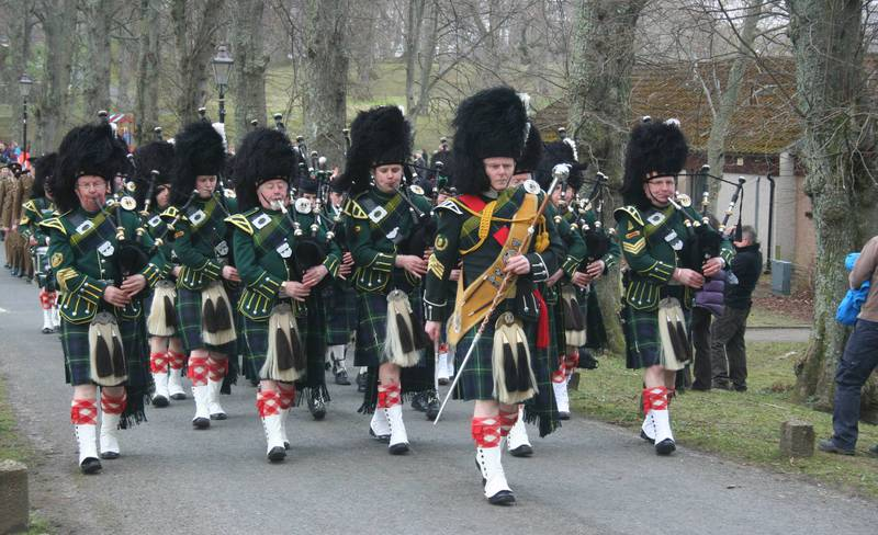 Huntly Page - Huntly Pipe Band